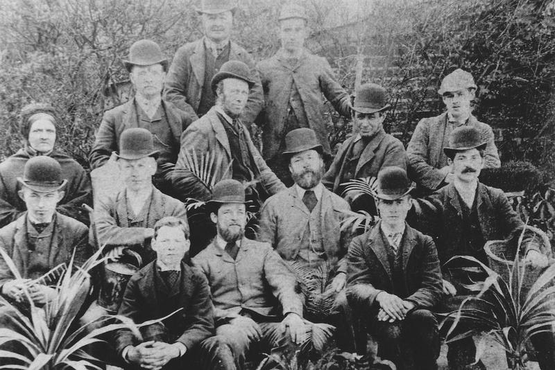 The Gardeners In Ashtead Park c.1890