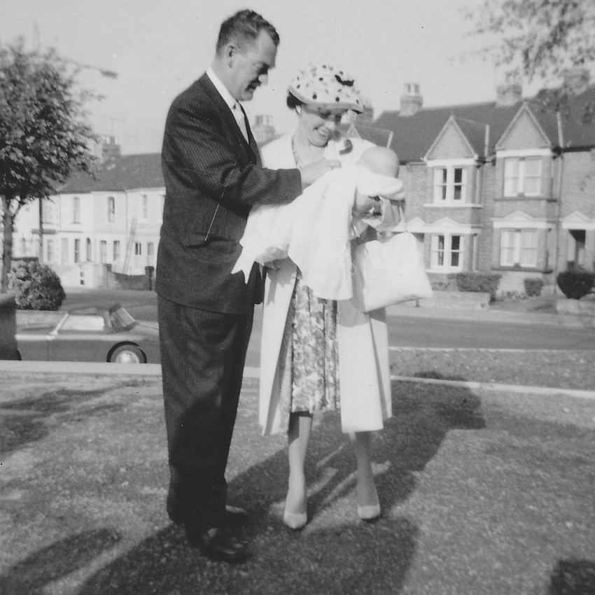 A 1950s Christening