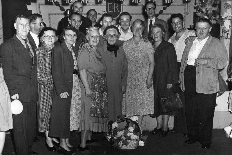 The British Legion Clapham Celebrating The Queens Coronation 1953