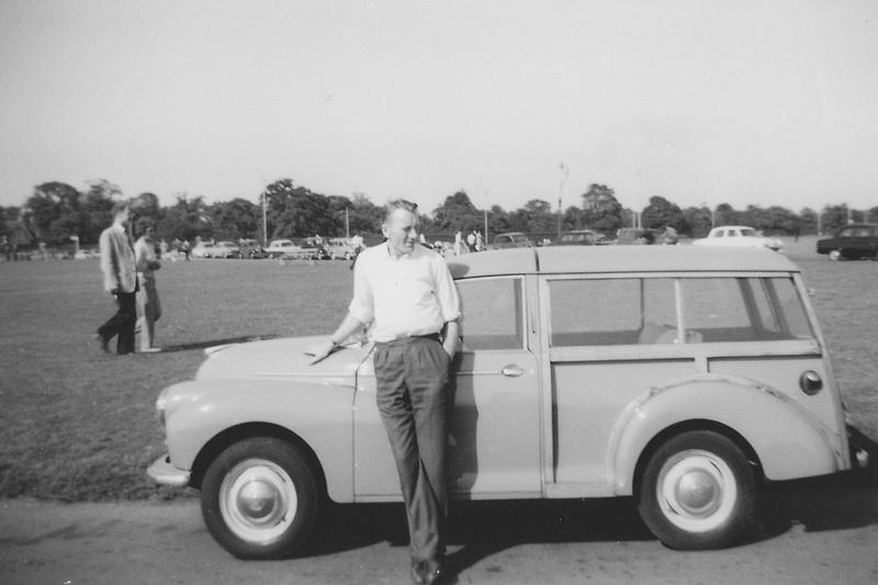 A 1960s Morris Minor Traveller