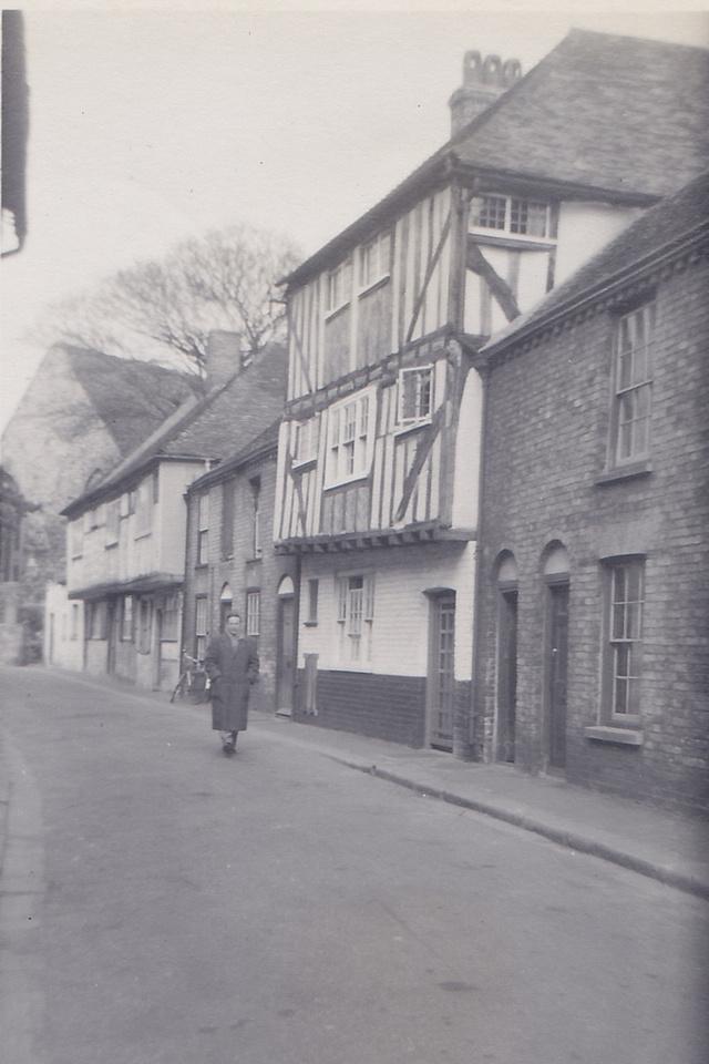 Sandwich Kent 1950s