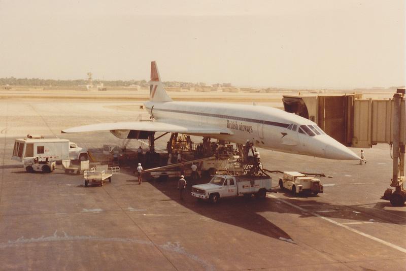 British Airways Concorde At New York JFK Airport 1979 No 4