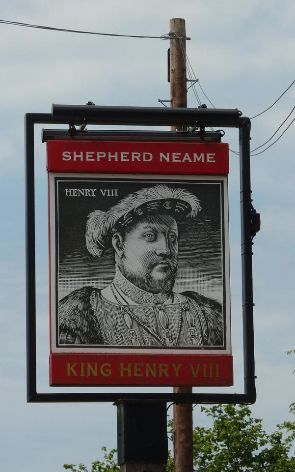 King Henry VIII Public House Hever Kent
