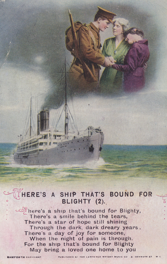 Bamforth's There's A Ship That's Bound For Blighty 2