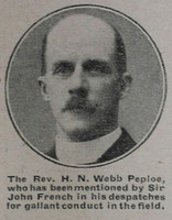 Webb-Peploe H N Rev Army Chaplain The War Illustrated 24th Apr 1915