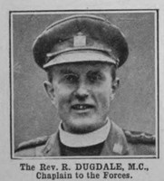 Dugdale R Rev MC Army Chaplain The War Illustrated Vol 9