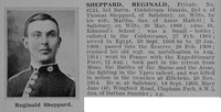 Sheppard R Pte 3rd Coldstream Guards Obit De Ruvignys Roll Of Honour Vol 1
