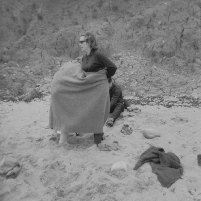 Changing On The Beach Robin Hood Bay 1964