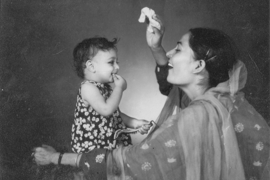 A Mother With Her Baby 1960s