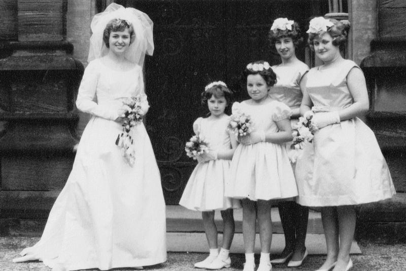 A 1960s Wedding No 1