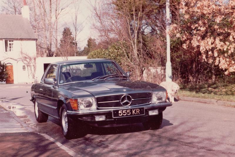 Mercedes 450 SLC 555KR
