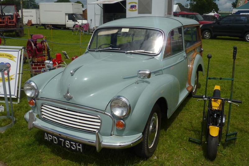 A 1969 Morris Minor 1000 Traveller APD 783H