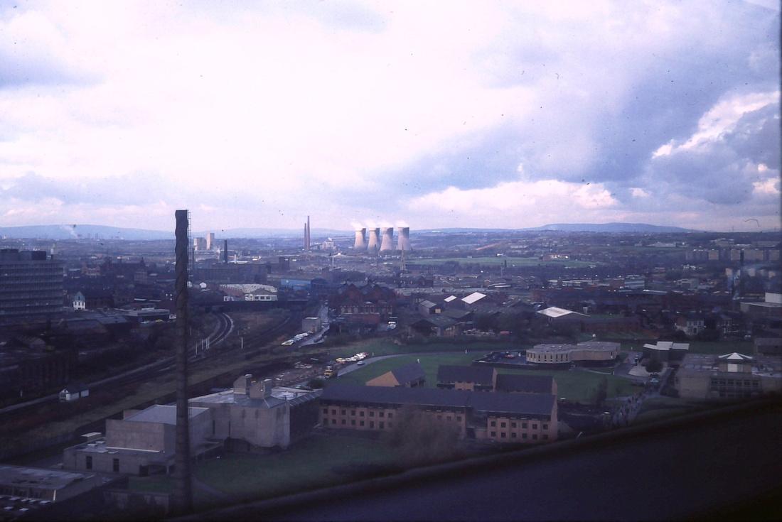 Agecroft Power Station Manchester 1980