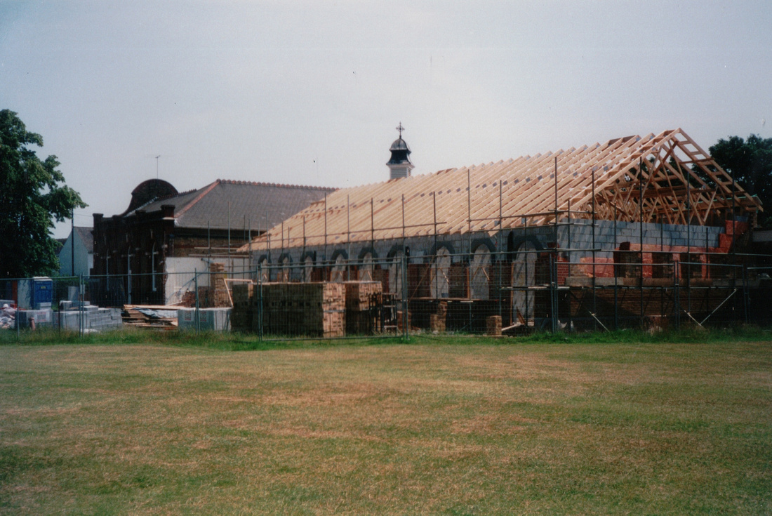 The Building Of The New School Hall St Mary's Infant School Carshalton 1999 2
