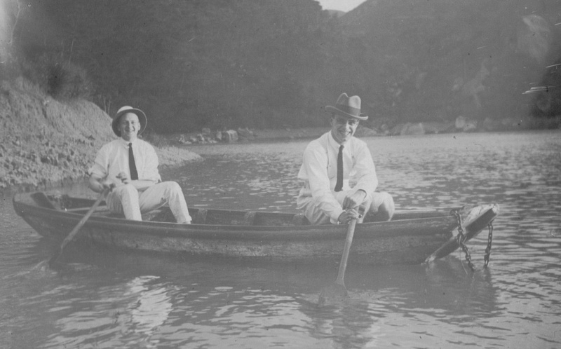 Enjoying Rowing In The 1920s