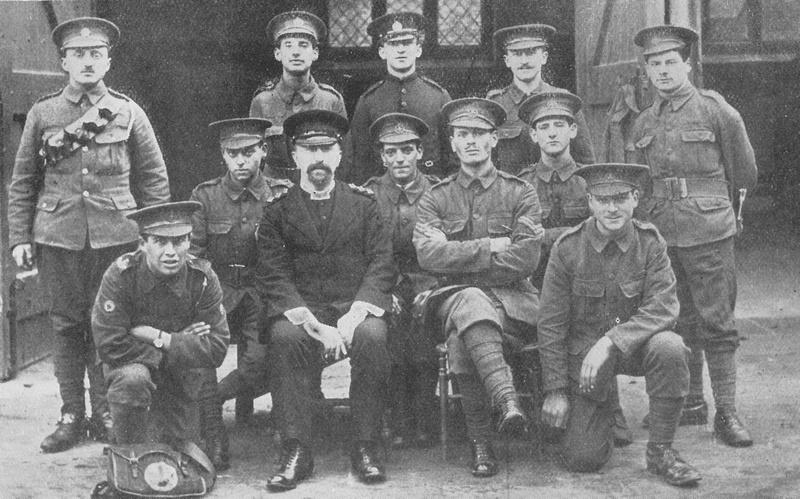17th London Regiment In Training At Hatfield 1914