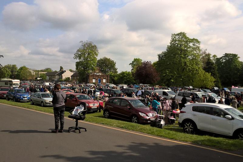 St Philomena's Car Boot Sale Carshalton April 2017