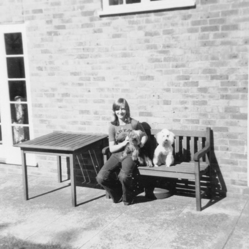 In The Garden 2 The Priors Ashtead Surrey 1973