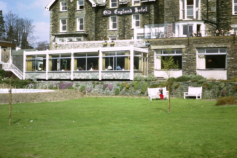 The Old England Hotel The Lake District April 1971