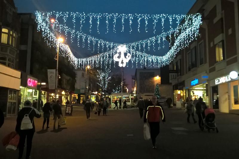 Christmas In Sutton High Street