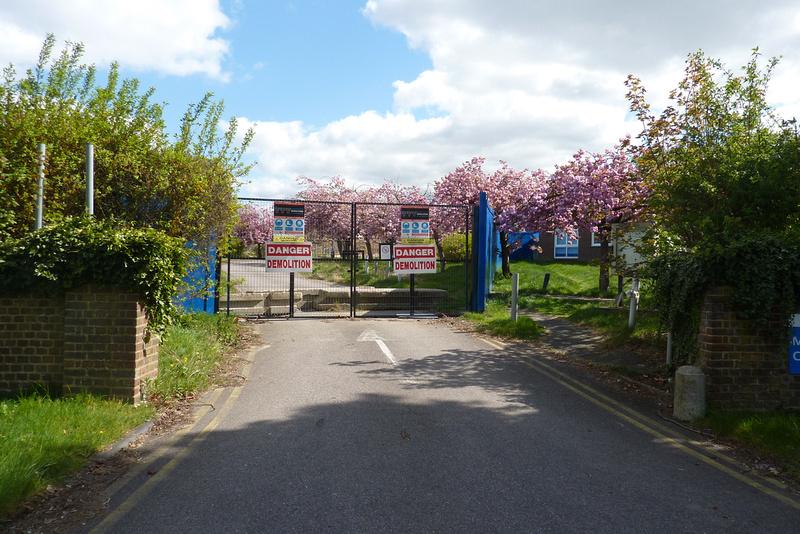 Sutton Hospital Site After Demolition