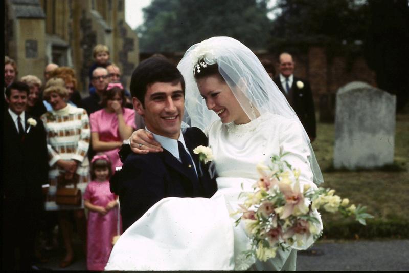 A 1960s Wedding Photo No 17