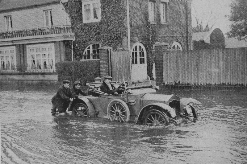 The Floods In Maidenhead In The Winter Of 1914-1915