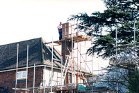 Repairing The Chimney Halnakerhouse Rookery Hill Ashtead
