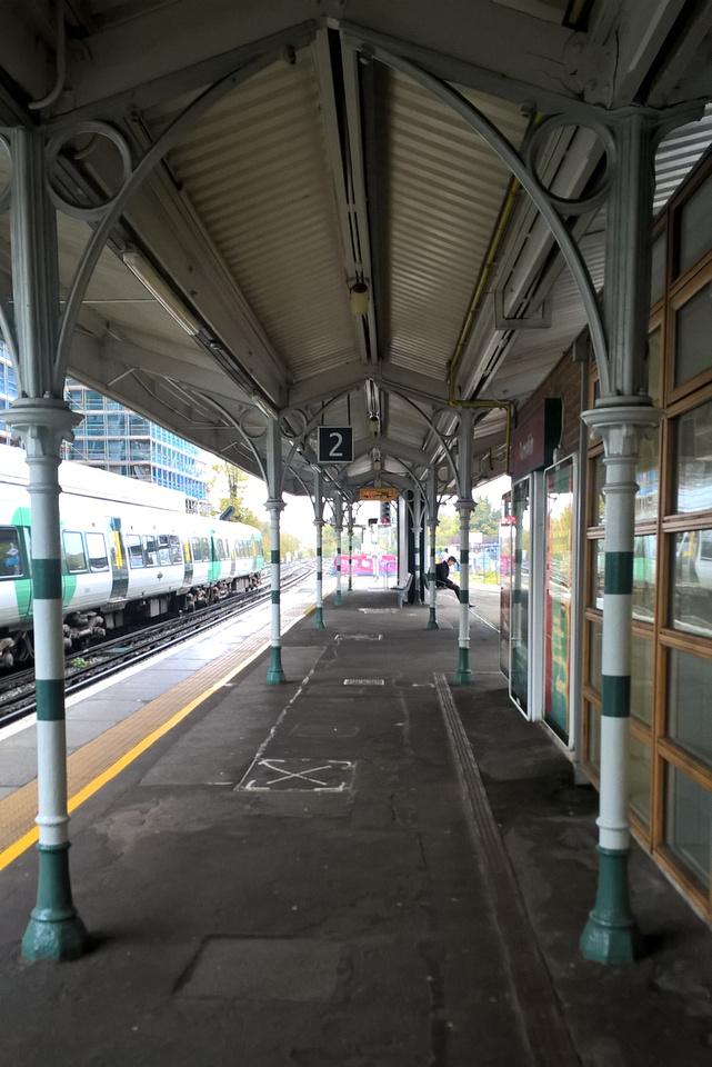 Victorian Arches Sutton Station