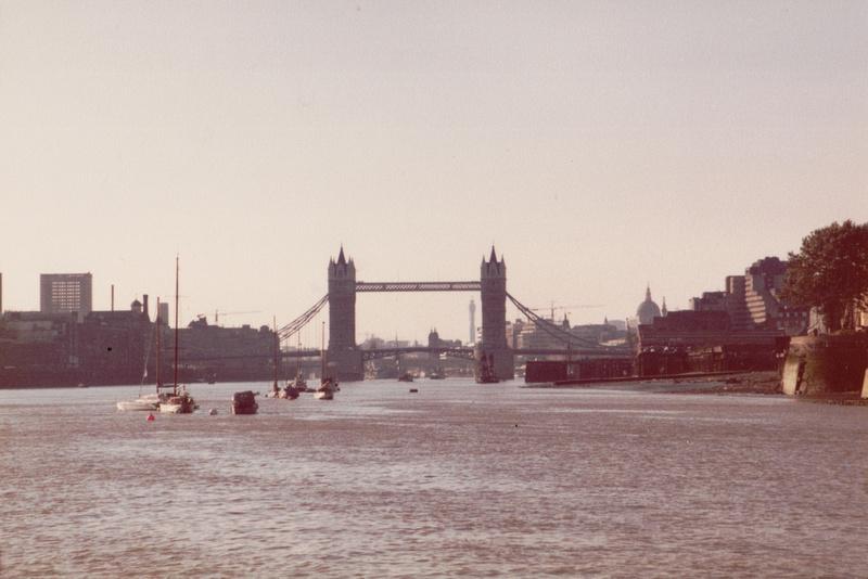 Tower Bridge 1970s