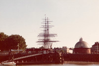 The Cutty Sark At Greenwich 1970s