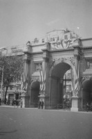 Admiralty Arch Decorated For The Queens Coronation 1953
