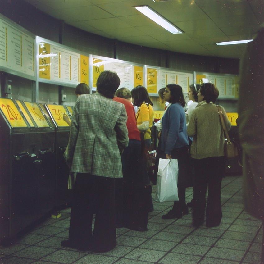 Tottenham Court Road Station 1970s