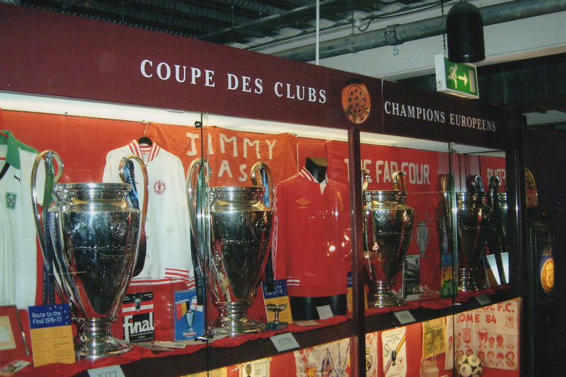 The Trophy Cabinet Anfield 2008