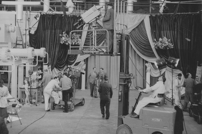 The BBC Filming At British Enka 1954 Photo 1