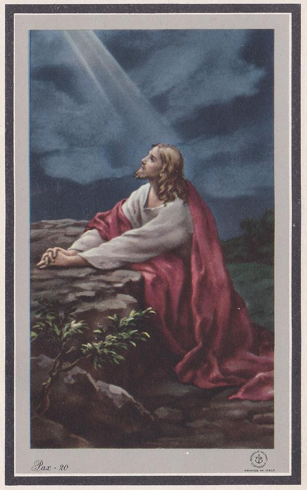 Memorial Card Front Alffed Rogers