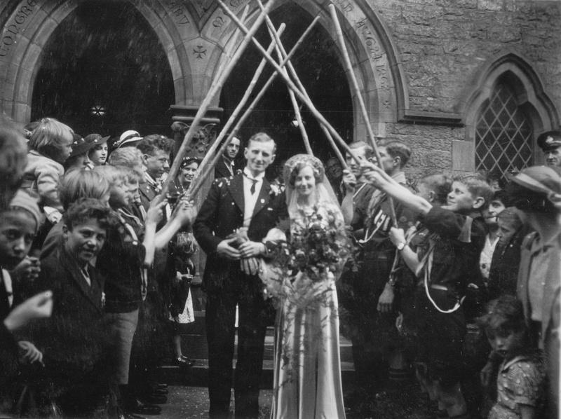 A 1930s Wedding