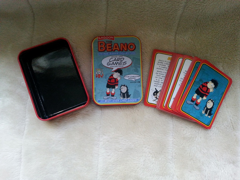 The Beano Excellent Card Games Collection In Tin