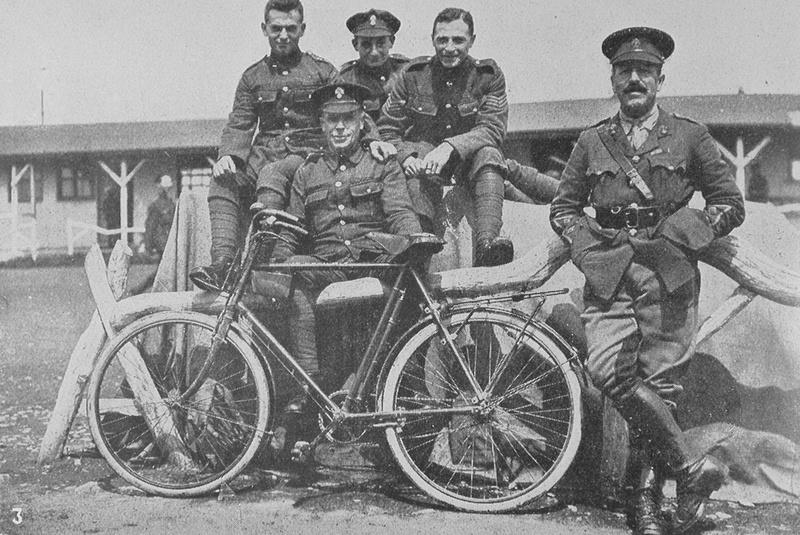 QM Staff 38th Royal Fusiliers Saltash Camp Cornwall