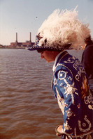 A Pearly Queen At Battersea 1970s