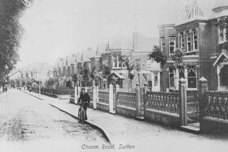 Cheam Road Sutton c.1910