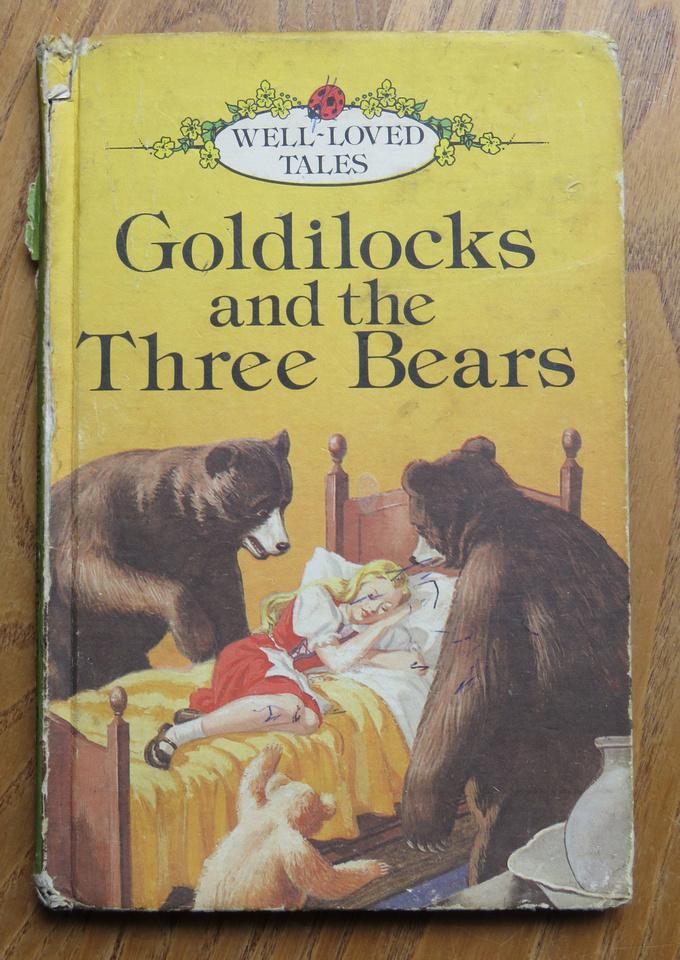Ladybird Book Godilocks And The Three Bears