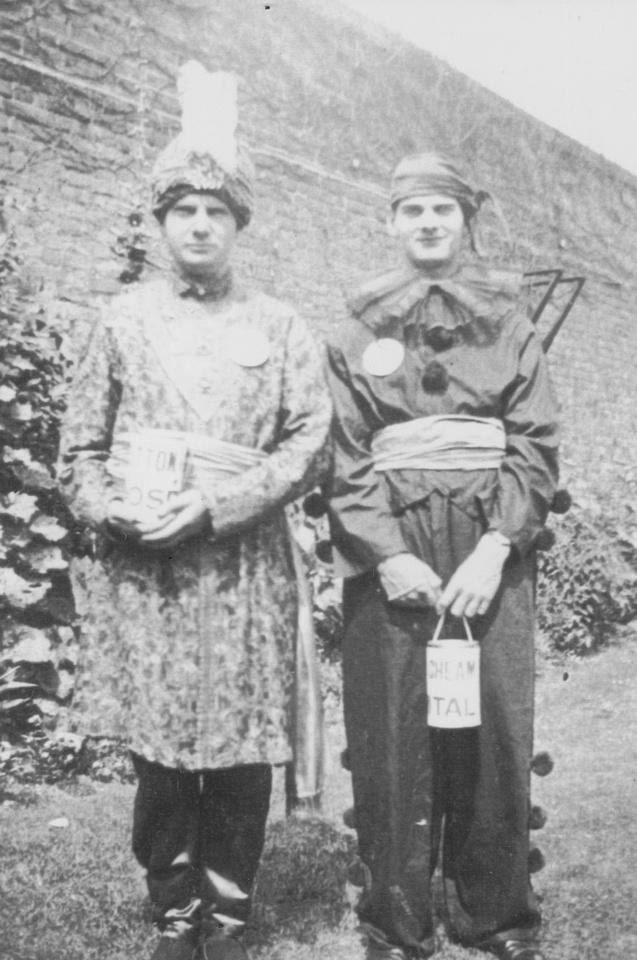 Ron And Ernest  Webb Sutton Fete 11th July 1931