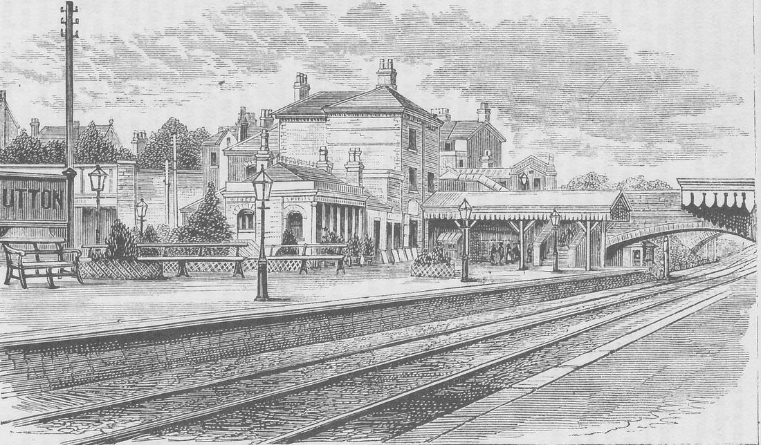 Sutton Station 1880