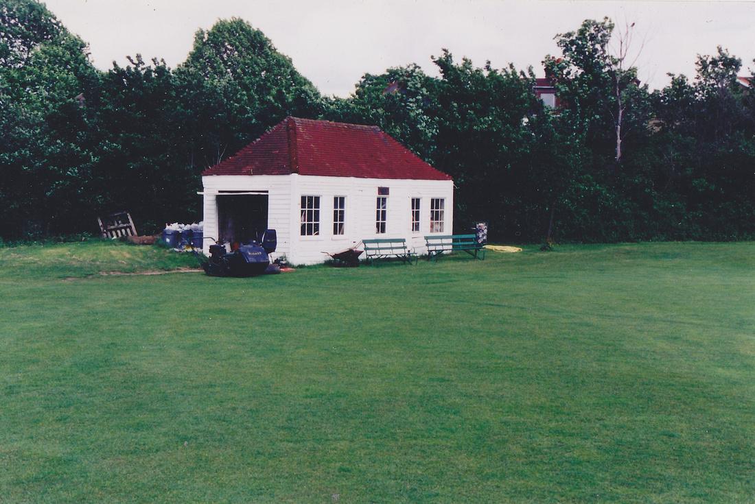 The Old Sutton Station At Sutton Cricket Ground
