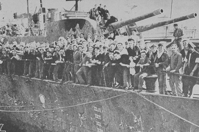 HMS Penelope Was Renamed HMS Pepperpot After Her Ordeal Escorting A Convoy To Malta