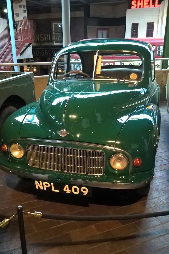 1950 Morris Minor 1000 Saloon NPL 409