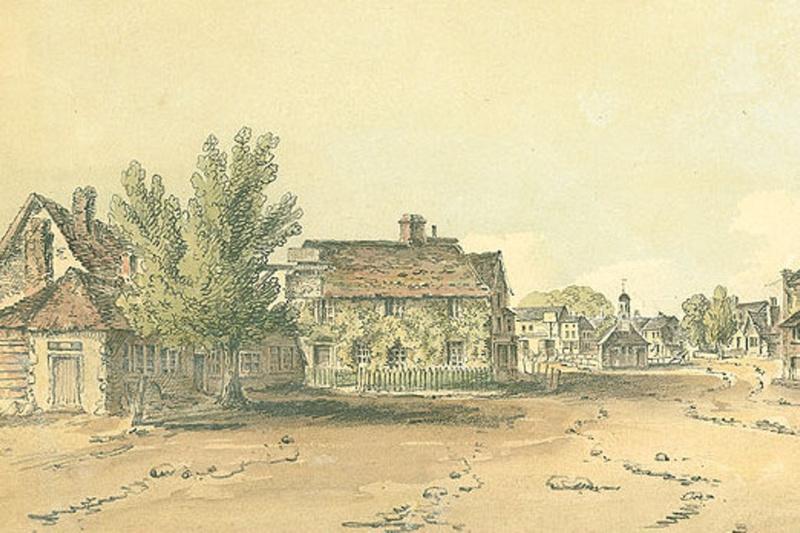 Epsom High Street 1822