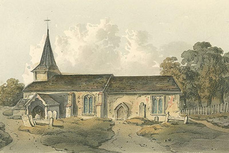 Buckland Church 1822