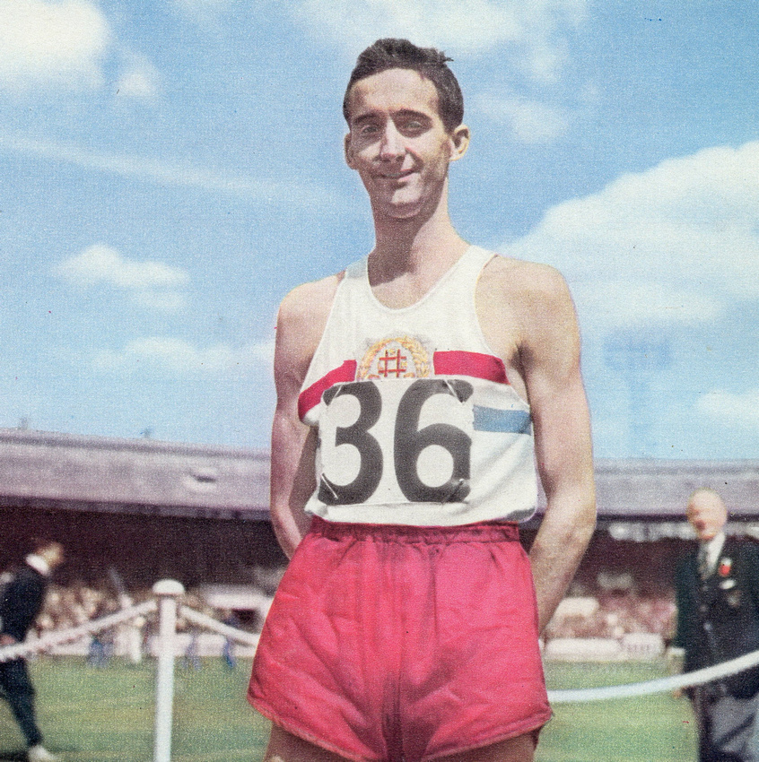 Gordon Pirie Of The South London Harriers 1953